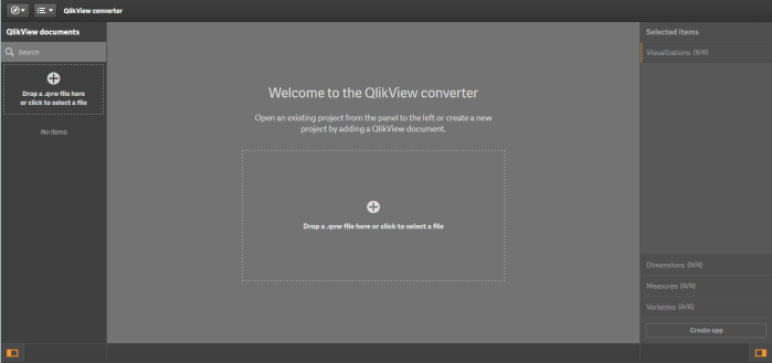 Qlikview converter